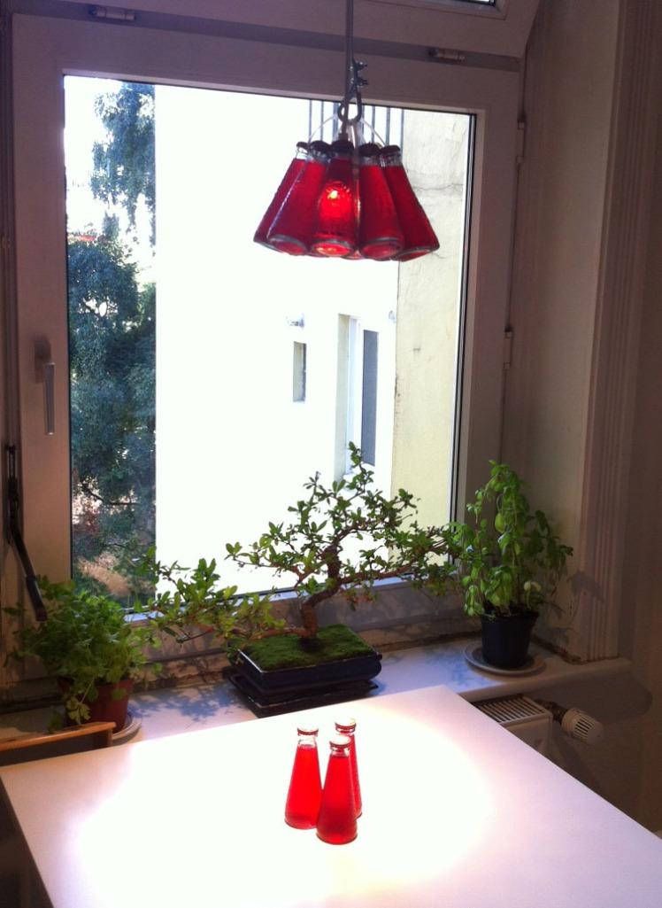 Campari-Flaschen-Lampe