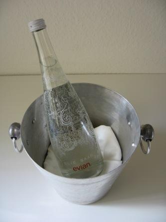 Evians Elie-Saab-Flasche