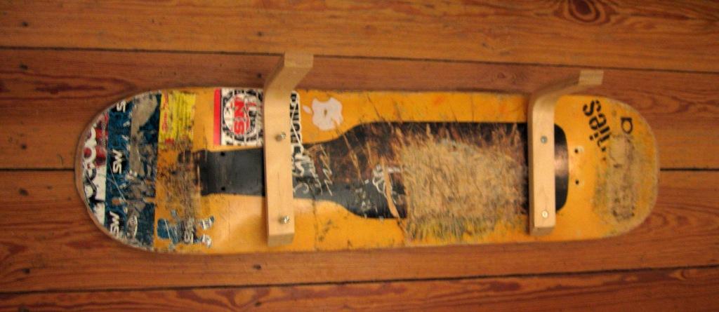 Deck mit Winkelkonsolen