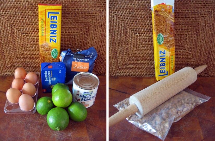 Key-Lime-Pie-Zutaten