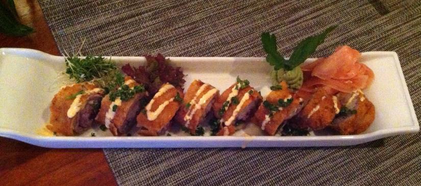 Sushi und Schnitzel