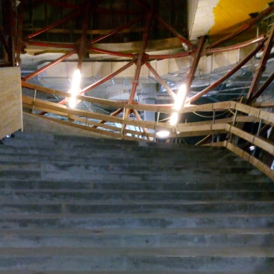 Stufen zum Großen Saal