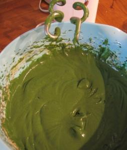 Grüner Teig