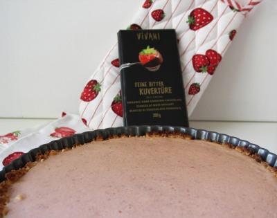 Boden für die Erdbeer-Tarte