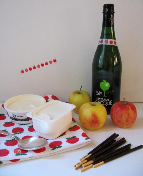 Füllung für Apfel-Baiser-Törtchen