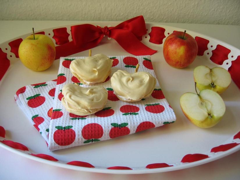 Baiser-Apfel-Törtchen