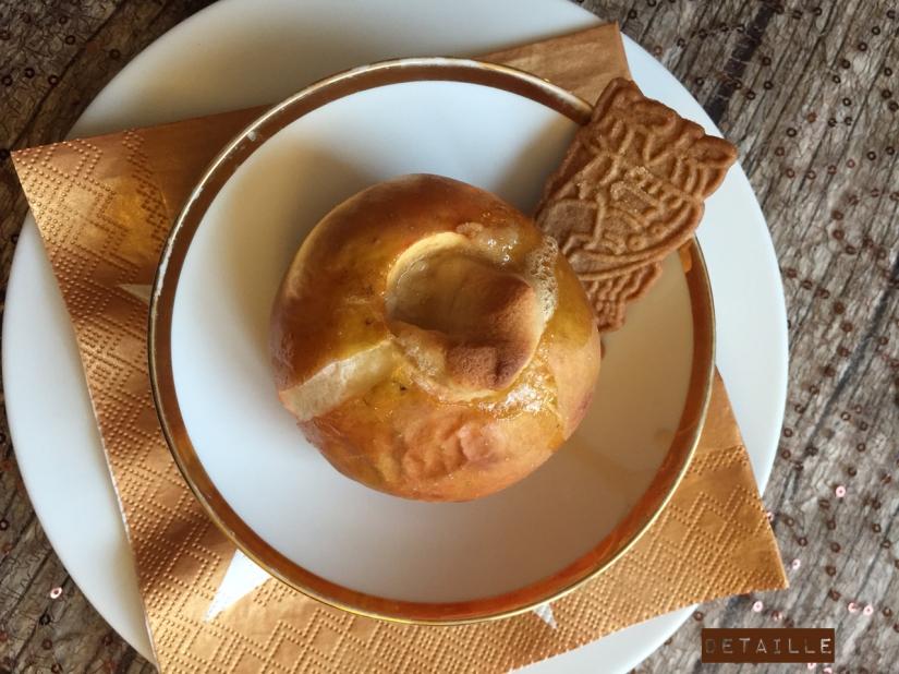 Bratapfel mit Marzipan-Deckel