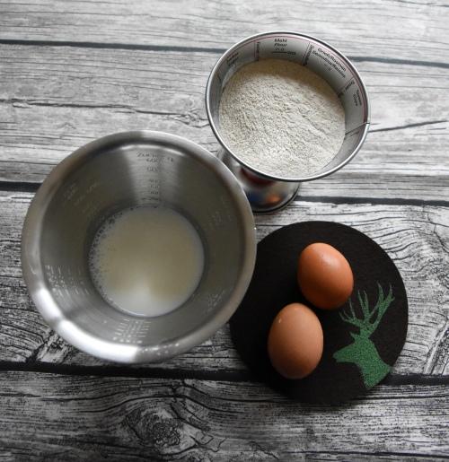 Zutaten für Buchweizen-Pancakes