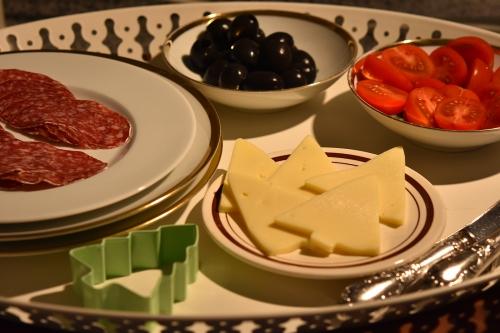 Zutaten für Raclette