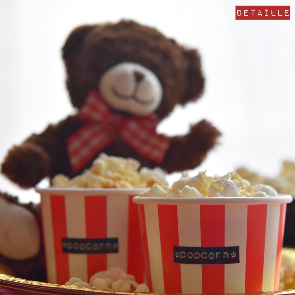 Berlinale-Cupcakes mit Popcorn