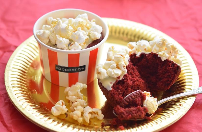 Yummy: Popcorn-Cupcakes!