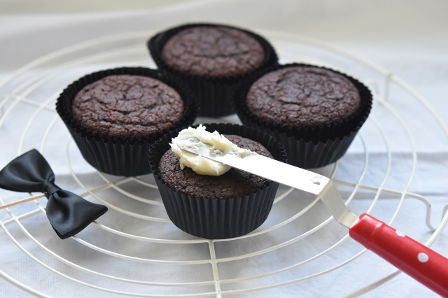 Cola Muffins mit Buttercreme