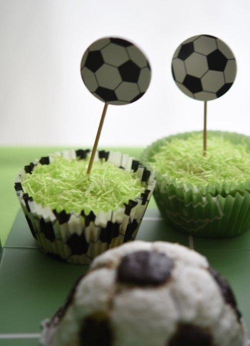 Muffins zur Fußball-EM