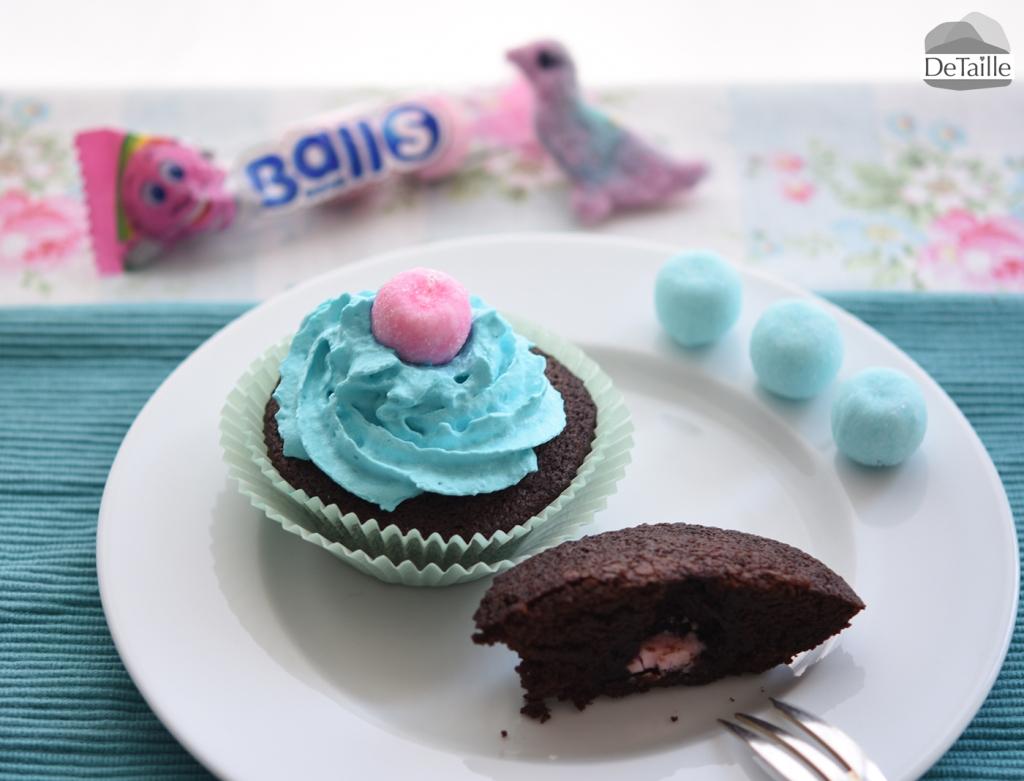 Cupcakes für die Babyshower