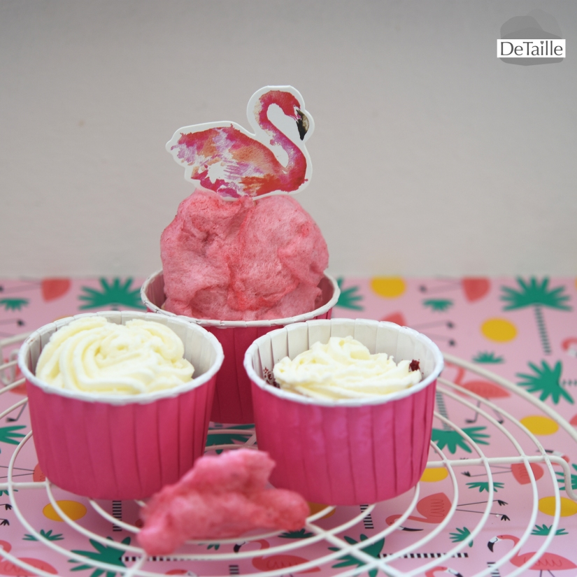flamingo-cupcakes-cottoncandy