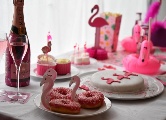 Flamingo-Party!