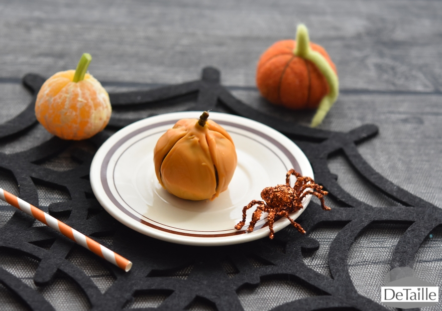 Halloween: Feigen-Kürbis und Mandarinen-Kürbis