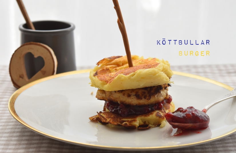 Schwedischer Köttbullar-Burger
